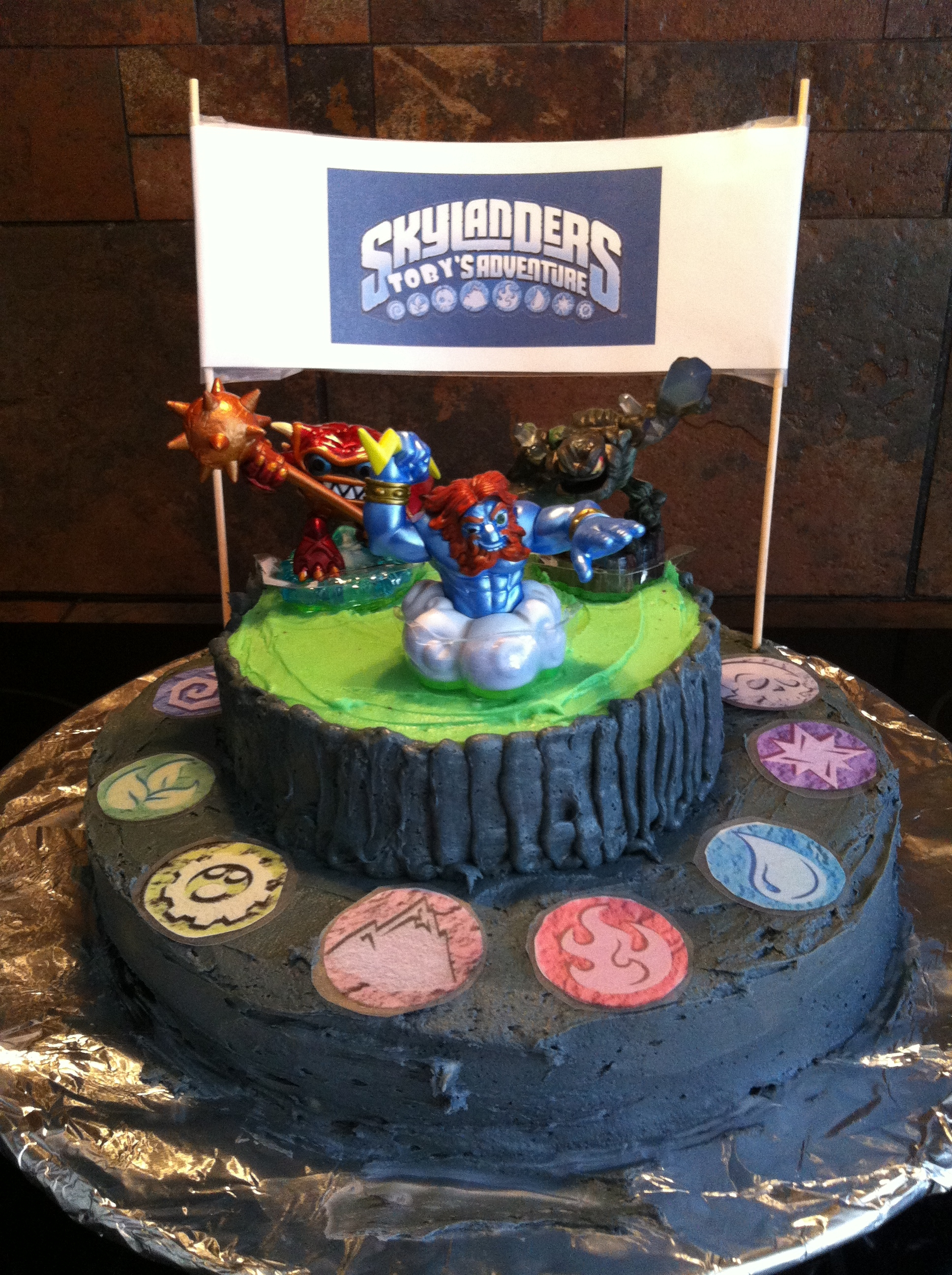 Skylander Birthday Cake Recipe