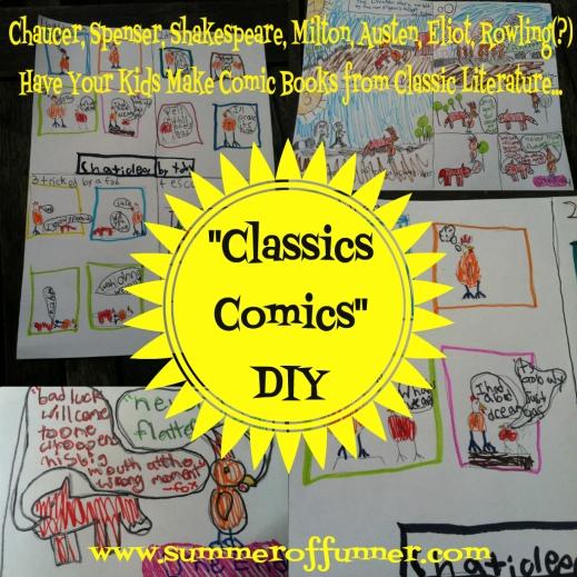 classics comics diy