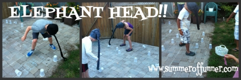 Elephant Head Party Game