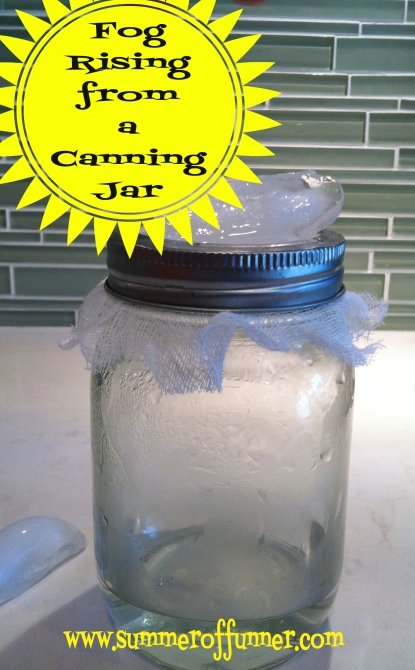 Fog Rising from a Canning Jar