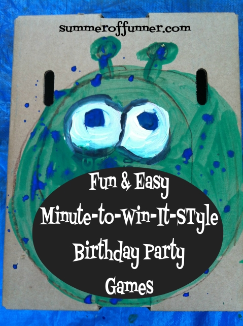 Fun and Easy Minute-to-win-it-style Birthday Party Games