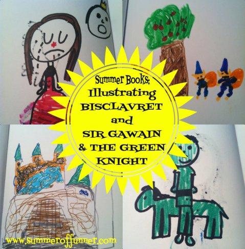 Illustrating Bisclavret and Sir Gawain