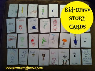 Kid-drawn STORYCARDS