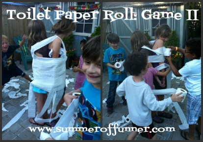 Toilet Paper Roll Game Two