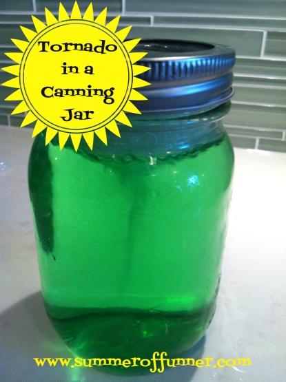 Tornado in a Canning Jar